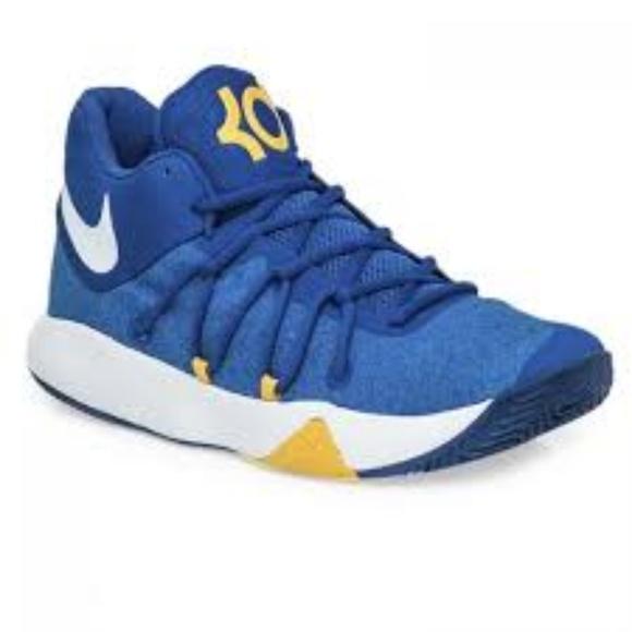 cdaf74a4a1a Kevin Duran Nike Trey 5 V Blue Basketball Sz 11.5